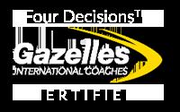 Gazelles Certified Logo