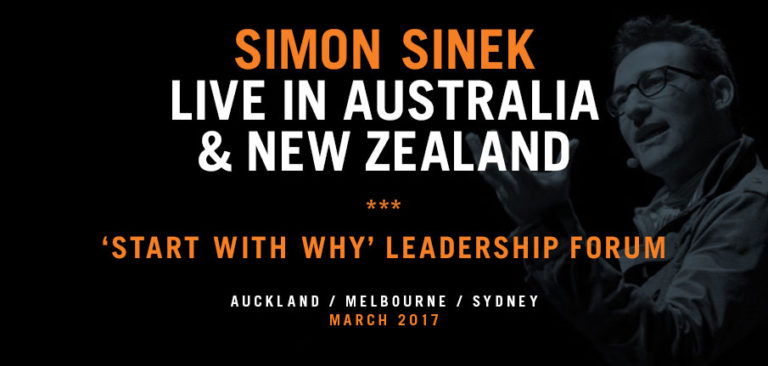 Simon Sinek Start With Why Leadership Forum Auckland Mar 2017