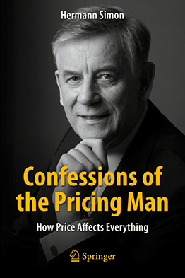 Confessions of the Pricing Man Book Cover