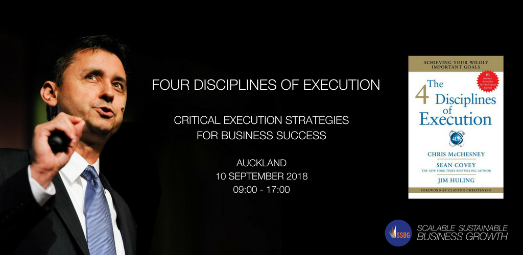 Four Disciplines of Execution Event
