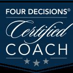 4D Certified Coach Logo navy