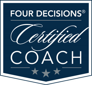 4D Certified Coach Logo navy